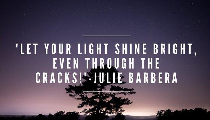 LET YOUR #LIGHT #SHINE BRIGHT, EVEN THROUGH THE #CRACKS  via @Inspireu2Action  #ThinkBIGSundayWithMarsha #InspireThemRetweetTuesday #IQRTG #JoyTrain  #TuesdayThoughts #TuesdayMotivation #Faith<br>http://pic.twitter.com/9OYs7qyqh8