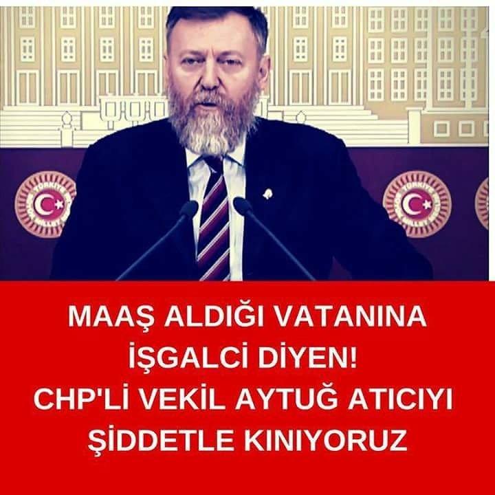 RT @CuneytYonet: #AytuğAtıcıKiminVekili 'den ziyade chp kimin partisi..? https://t.co/uTe65TTa8Q
