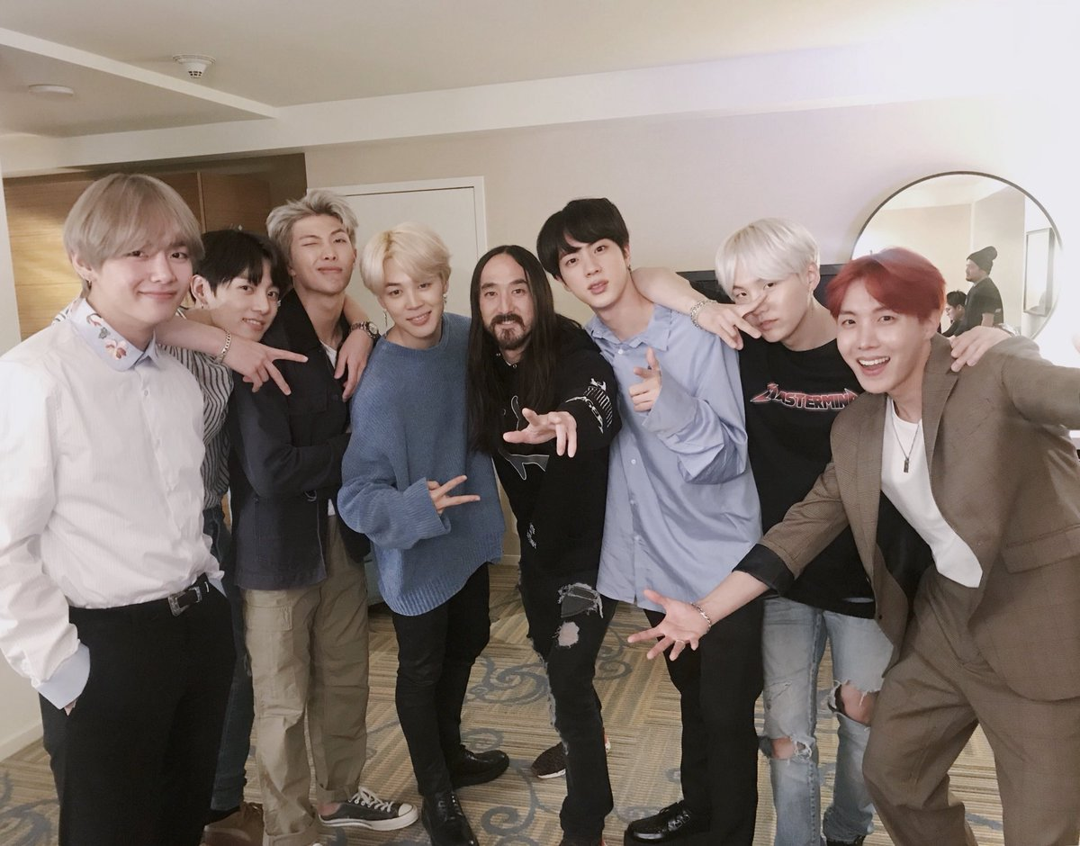 Mic Drop (Remix) is coming 🔥🔥 @steveaoki...