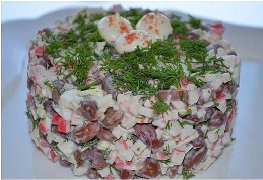 Рецепты салата с тунцом консервированным