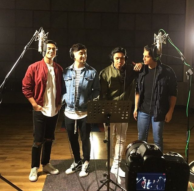 """#Repost @MyCHOSdotcom   Something to look forward to from Harana! The music video of their rendition of """"Hinahanap-hanap Kita,"""" the official theme song of #UnexpectedlyYours, soon!!! @marlo_mortel @khelpangilinan #@iambryansantos_ @josephcmarco <br>http://pic.twitter.com/TNhWq1kNEh"""