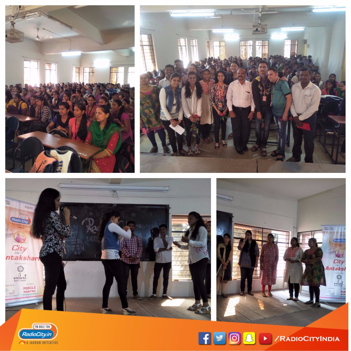 Radio City On Twitter City Chi Antakshari At Drk College Of Commerce Kolhapur With Rcrjshital Fun Masti Citychiantakshari Kolhapur Ragragmeinkolhapurcity Https T Co Owj22ozp00