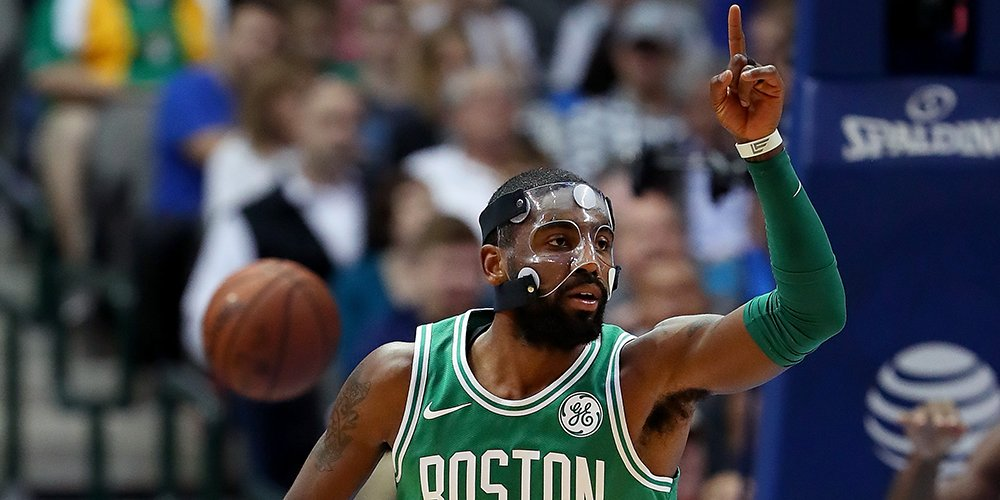 1️⃣6️⃣ IN A ROW.   The Celtics take down the Mavericks 110-102 in overtime, behind Kyrie Irving's season-high 47pts! https://t.co/3Y1LCTv7uq