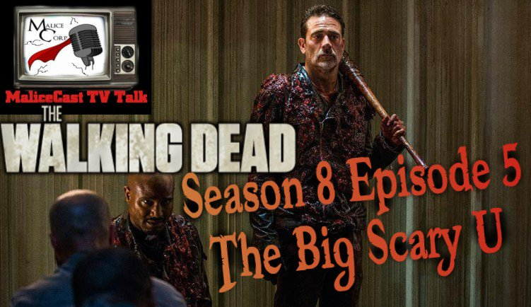 Live in 3 mins @malicecast #TVTalk #Live #podcast talking #TheWalkingDead  #Season8 #Episode5 #TheBigScaryU join in the #livechat and tell us what you thought of the episode #TWD  #Aftershow  https://www. youtube.com/watch?v=hWdIj1 VJ83c &nbsp; … <br>http://pic.twitter.com/x3nBAG1pL7