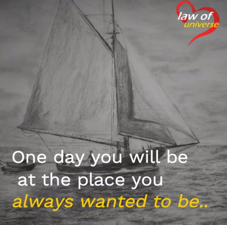 """""""One day you will be at the place you've always wanted to be if you work towards getting there.""""  #ThinkBIGSundayWithMarsha  #SuccessTRAIN  #Strictly2017 #motivation  #inspiration #positive #quote #InspireThemRetweetTuesday #TuesdayThoughts #tuesday<br>http://pic.twitter.com/QjmmGnaZFr"""