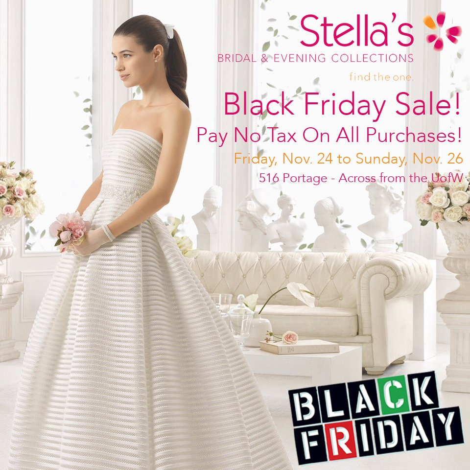 Stellas Bridal MB On Twitter Black Friday Sale Pay No