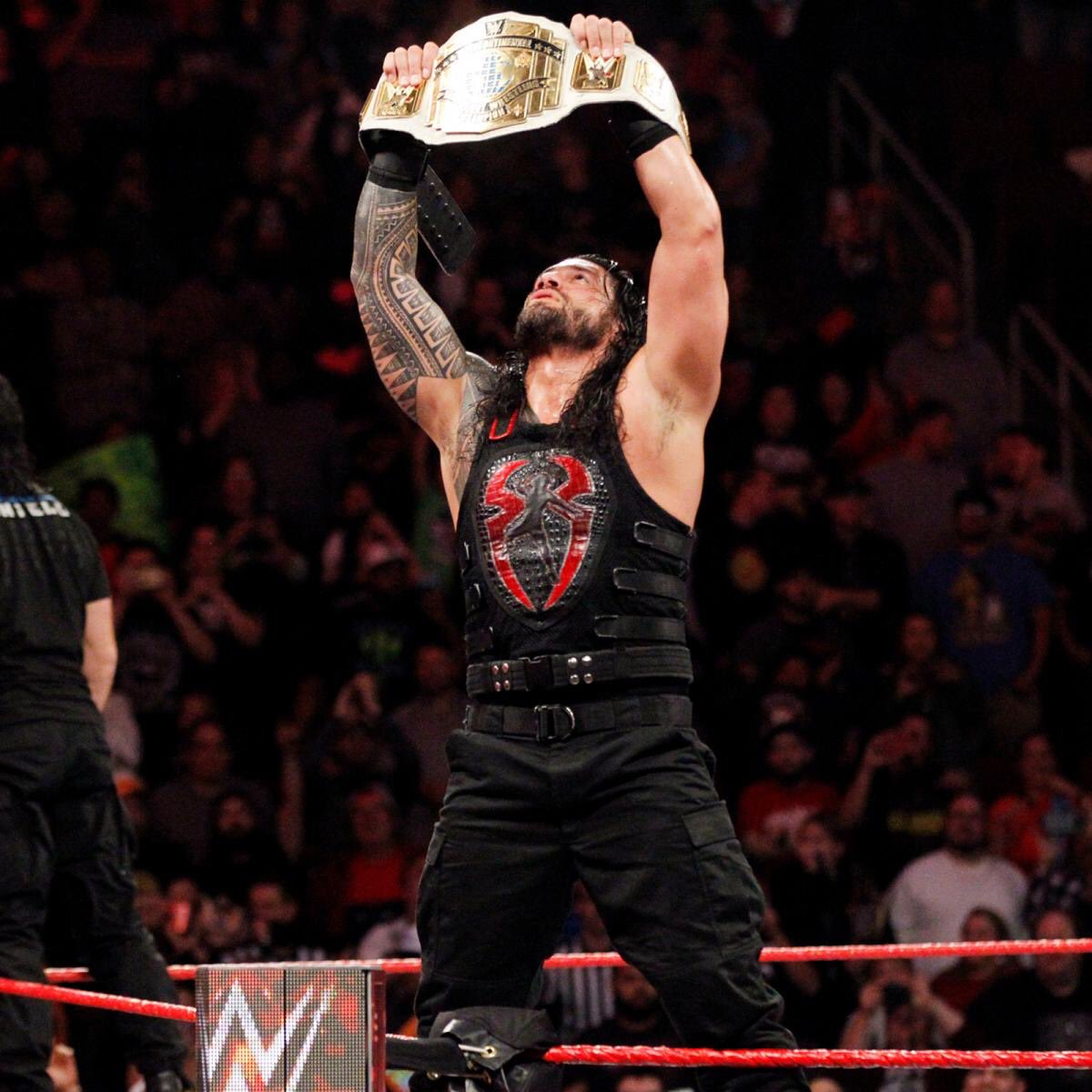 Wherever I am, consider it My Yard.   So if you want my title... ...all you have to do is step up. #Raw <br>http://pic.twitter.com/jjJaklC5fF