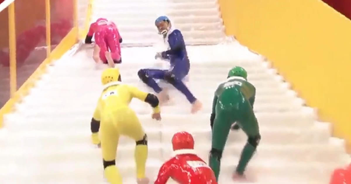 9gag on twitter japan s slippery stairs is world s most