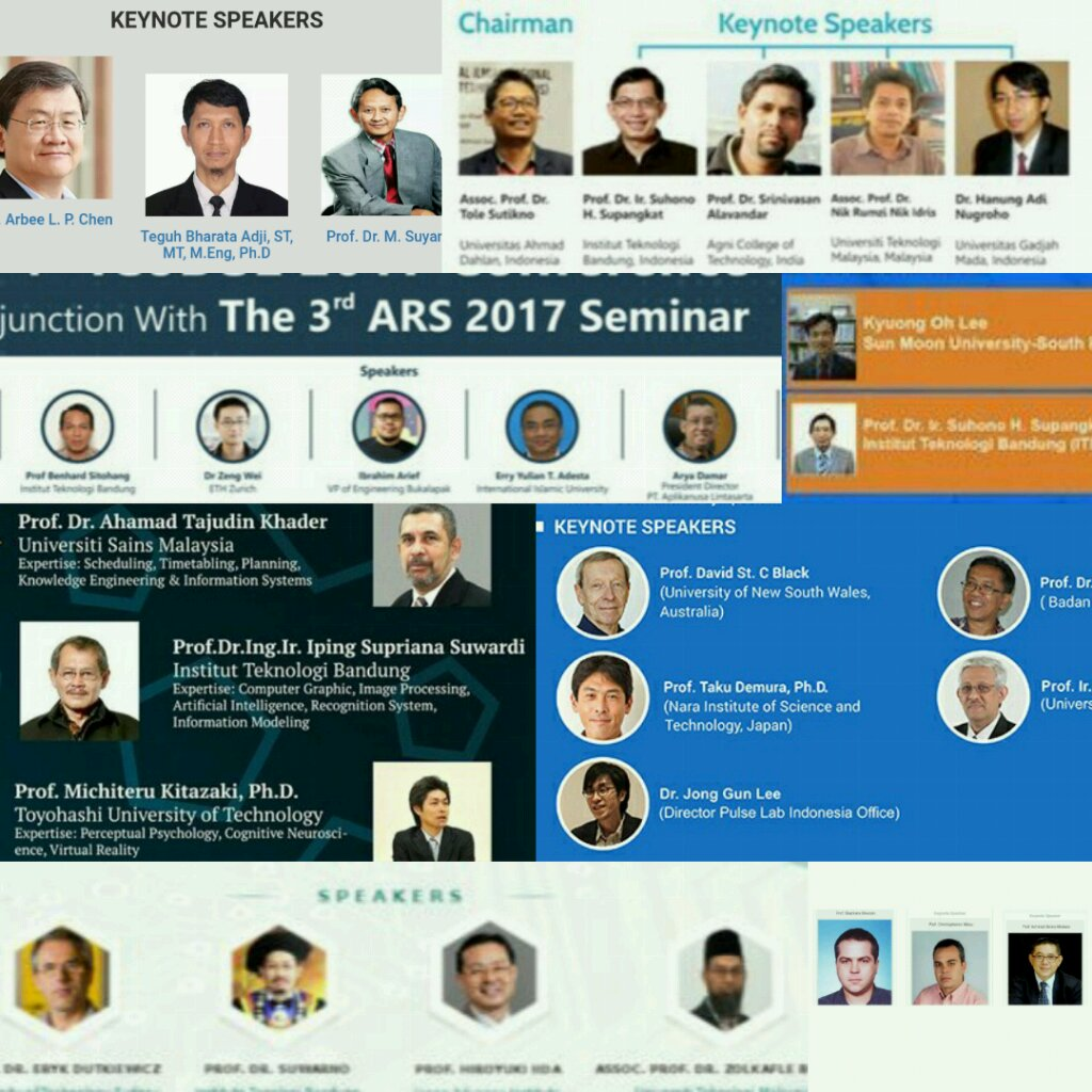 This is going to sound SJW-ish, but since I&#39;ve heard about #manels (#allmalepanels #panellaki) I&#39;ve noticed that the phenomenon is VERY real for IT/CS conferences in Indonesia. Just this year: ICoDSE, ICITISEE, ICAICTA, ICIC, EECSI, ICST, CAIPT, ICECOS, and more? cc @PanelLaki<br>http://pic.twitter.com/0CqAfolY9n