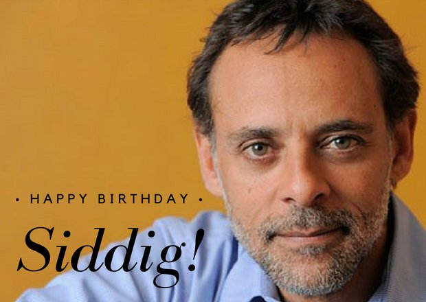 Happy birthday, Alexander Siddig! Post your birthday greetings for Sid here -->