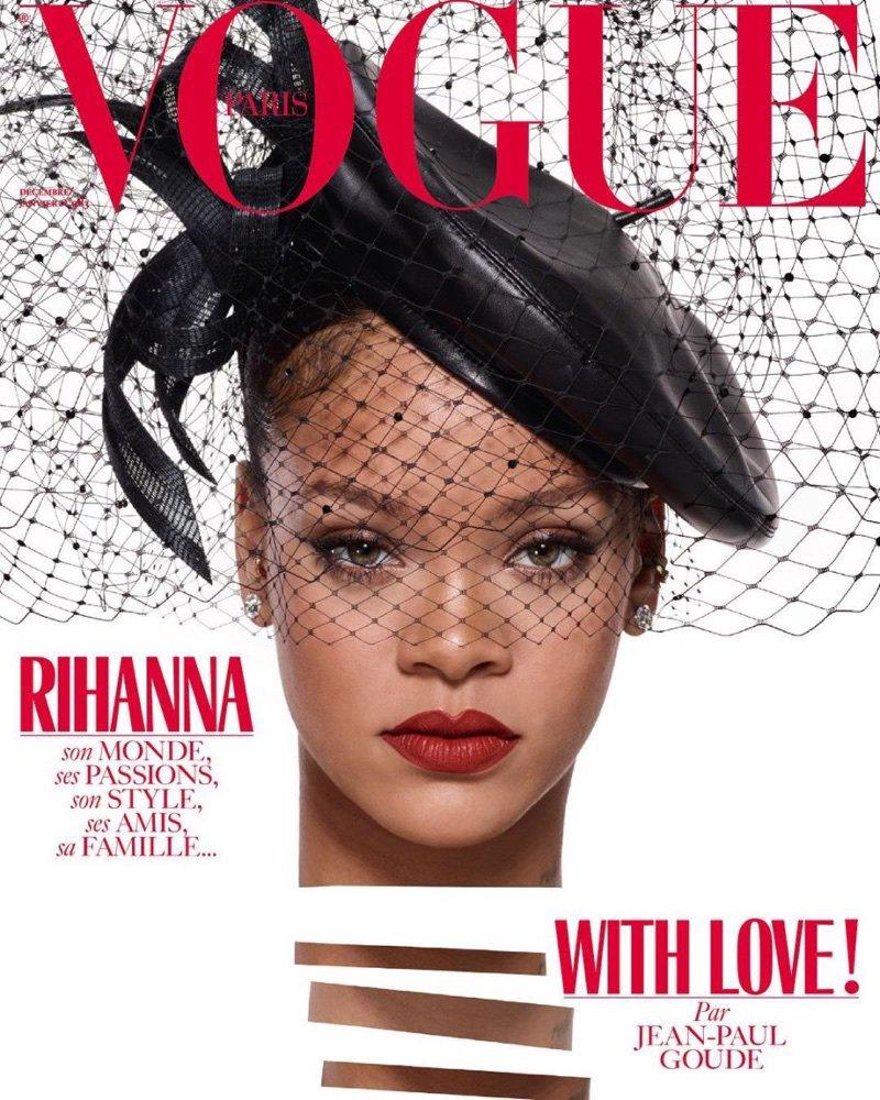 #Rihanna Lands Vogue Paris' December Cover (Photos) @rihanna https://t.co/slpfNxH1dT