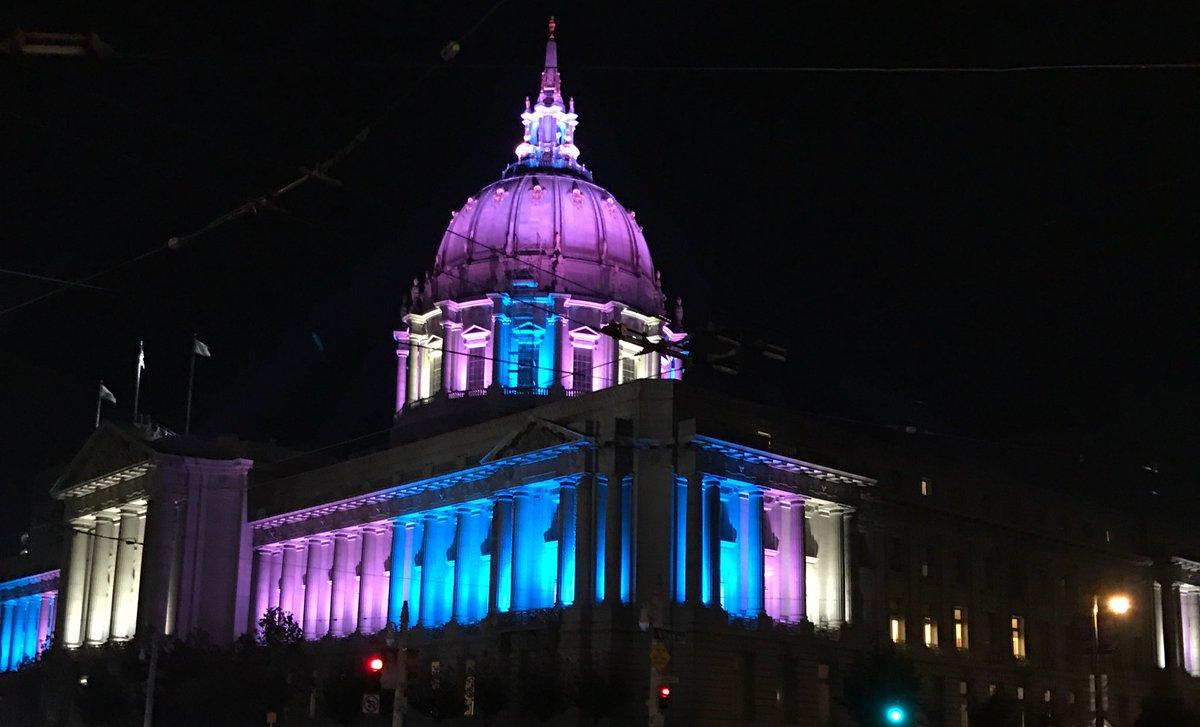 Today &amp; everyday, #SF stands shoulder to shoulder with the #transgender community. #TDOR<br>http://pic.twitter.com/JdemlATJYU