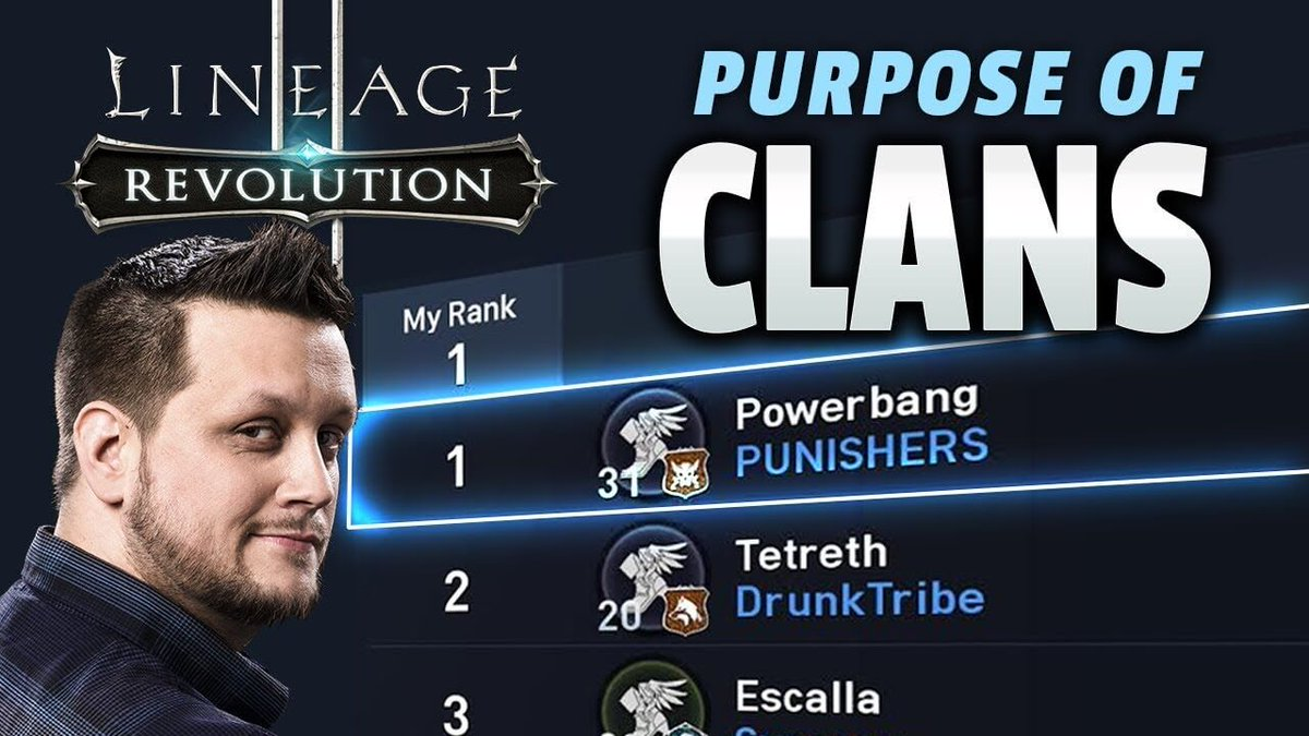 lineage 2 revolution clan ranking