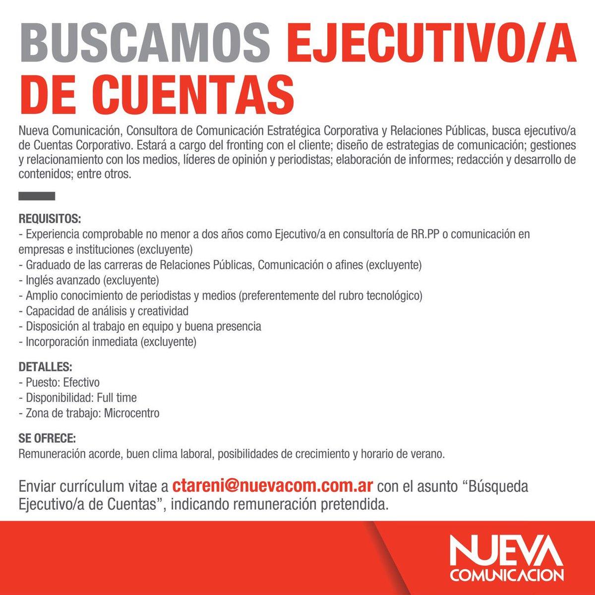 Nueva Comunicación on Twitter: \