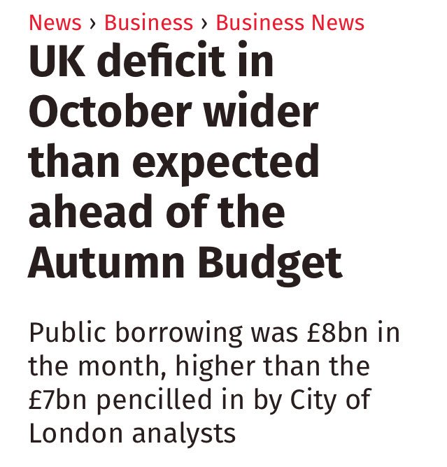 This can't be right. How can the deficit have grown? Osborne promised it would be gone by 2015. https://t.co/6BVh28QIUc