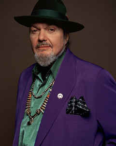 "Happy Birthday to the great Dr. John, born Nov 21! ""Right Place, Wrong Time\"""