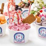 ロールアイスの専門店「ロール アイス クリーム ファクトリー」大阪上陸、道頓堀に出店 fashion…