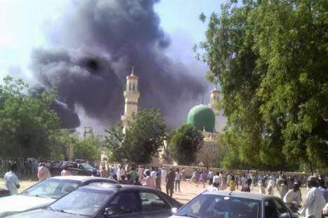 Scores of people are feared dead after a suicide bomb attack at a mosque in Mubi, Adamawa on Tuesday; an eyewitness said he counted 27 dead, 49 injured