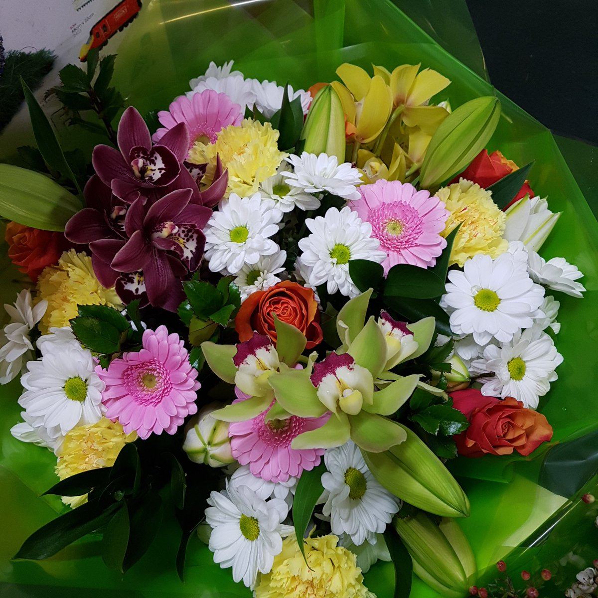 Fantasia Florists On Twitter Tuesday Morning Deliveries Flowers Florist Newcastle Byker Heaton Pink Rose Orchids