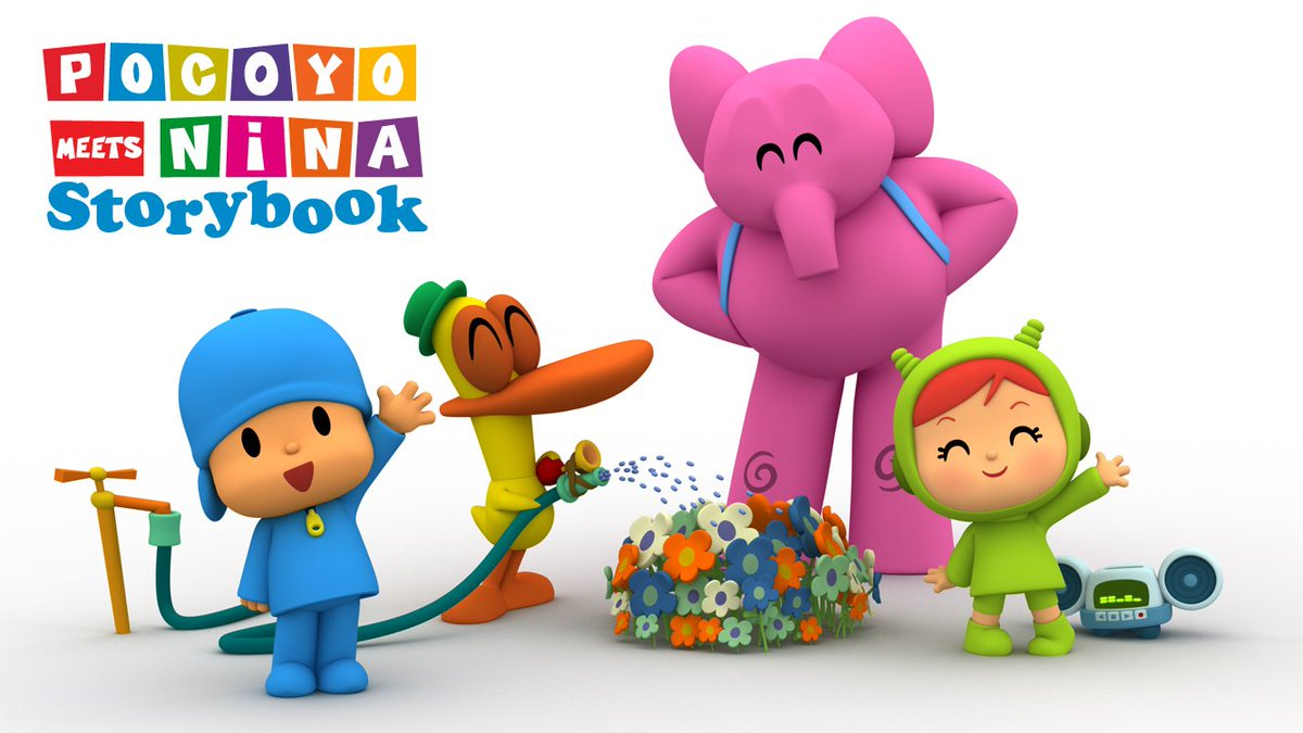 Pocoyo Party Time Story Book