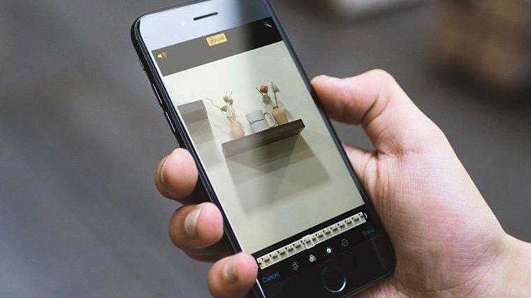 фотоаппарат как фоткать живые фото на айфоне центре сделать углубление