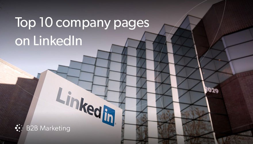 10 best LinkedIn company pages (and five lessons we can learn from them) https://t.co/PF3K1ry5zP https://t.co/KFv2s1F5dl