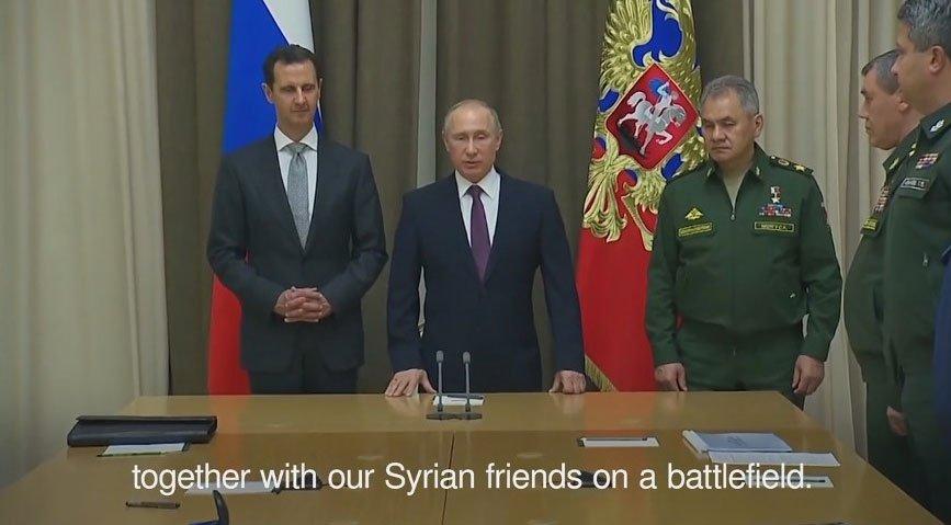 #WATCH: Vladimir Putin meets Syrian president Bashar Assad  http:// indo.ie/u5F430gIs1V    pic.twitter.com/j1c7rpRkO1