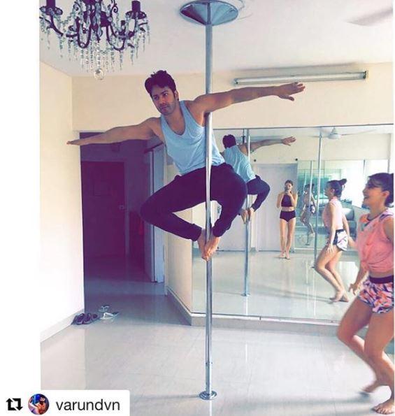 Giving us fitness and friendship goals. @Varun_dvn @Asli_Jacqueline #repost <br>http://pic.twitter.com/U1r4PBRQIQ