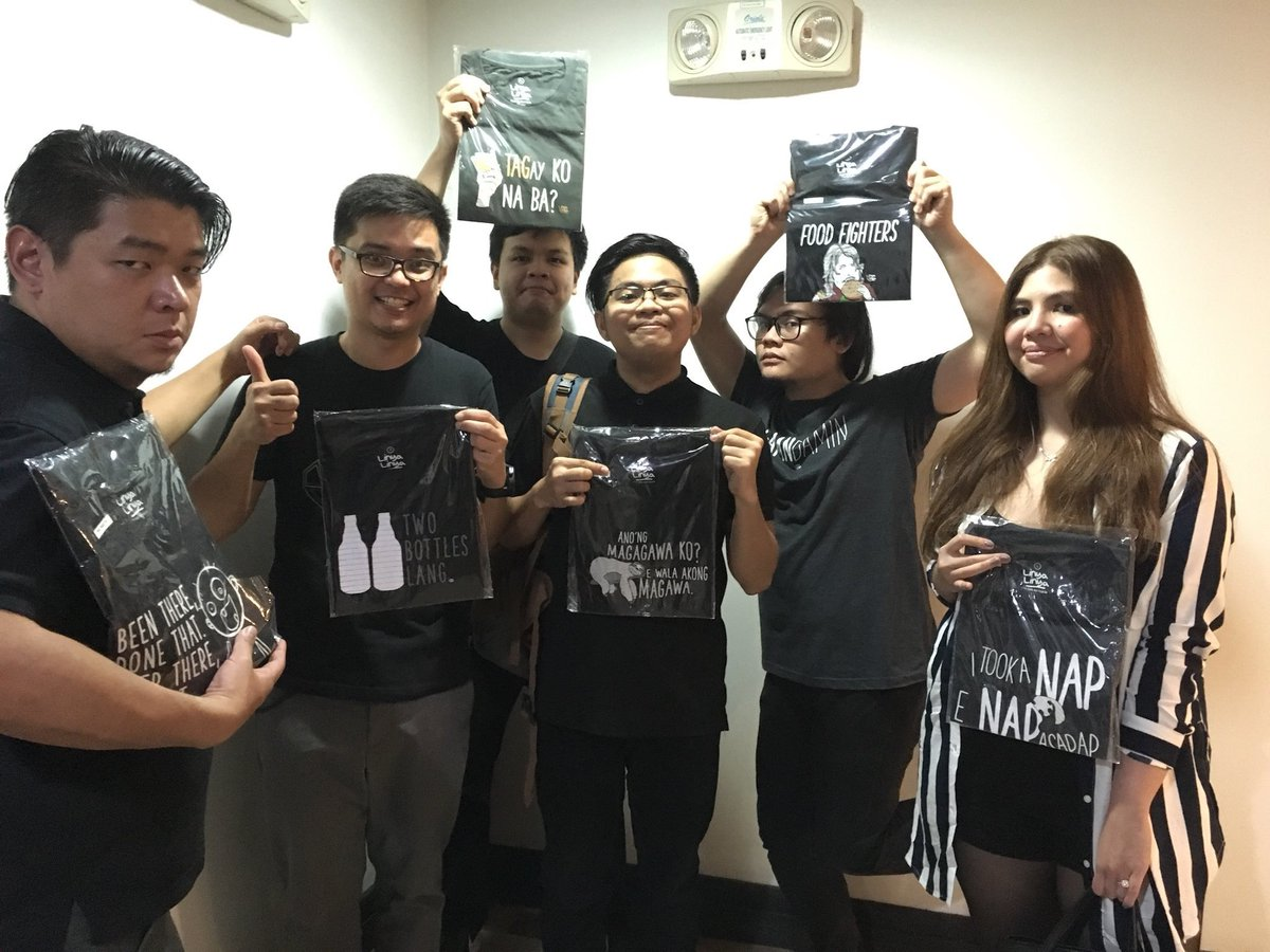 Autotelic wears Linya-Linya!   Thank you for the love &amp; support, guys!   #Repost @AutotelicMusic @jeshwehey<br>http://pic.twitter.com/EcfAHFsBLp