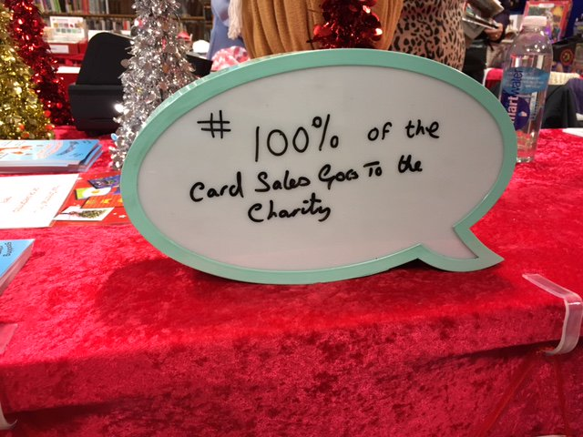 charity xmas cards on twitter pop up shop selling christmas cards