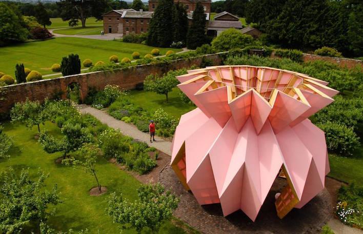 Origami Pineapple Pavilion in England: Studio Morison built a contemporary…  https:// goo.gl/tLT7KC  &nbsp;   #UserFeatured #angleterre #origami<br>http://pic.twitter.com/E20YXaRHD4
