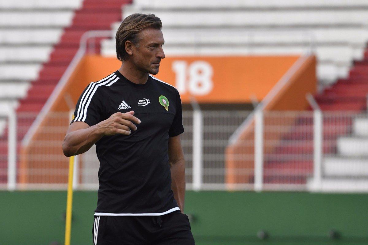 ⚠️⚽️ FOOTBALL -MAROC ⚠️⚽️  Hervé #Renard prolonge son contrat de sélectionneur du #Maroc jusqu'en 2022 !    #Football#HerveRenard