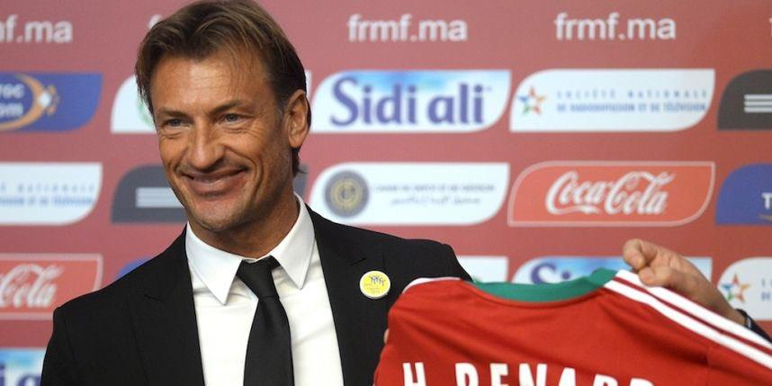 OFFICIEL ! Hervé Renard prolonge son contrat jusqu'en 2022 avec le Maroc !