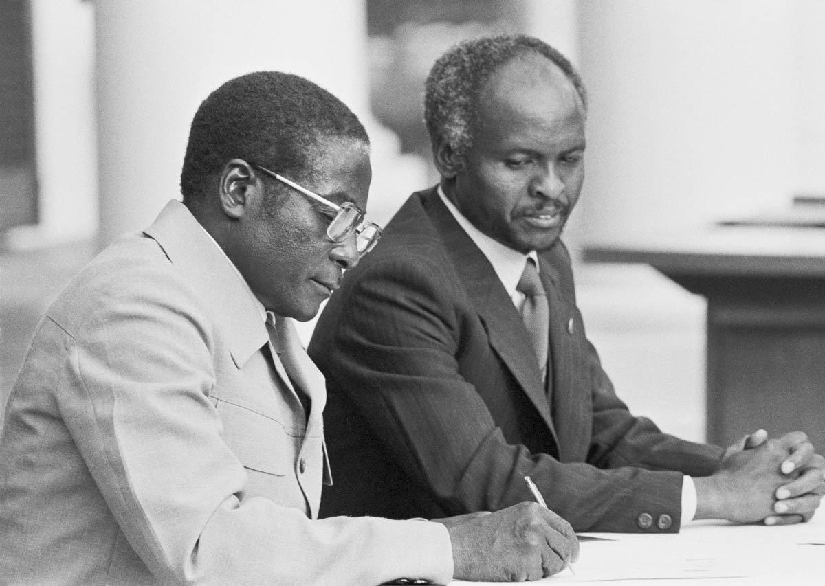 A portrait of Robert Mugabe: From 1980 to 2017 aje.io/8r7bn #MugabeResigns