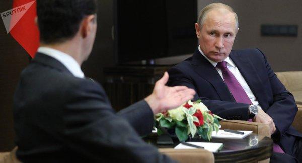 Le porte-parole du Kremlin révèle si Poutine et Assad ont évoqué le départ de ce .. https://t.co/E1924mmWDw