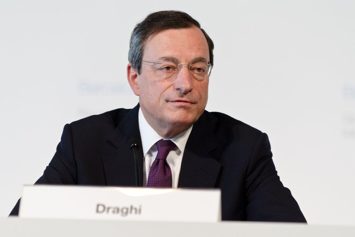 ECB President Draghi: Cryptocurrency Imp...