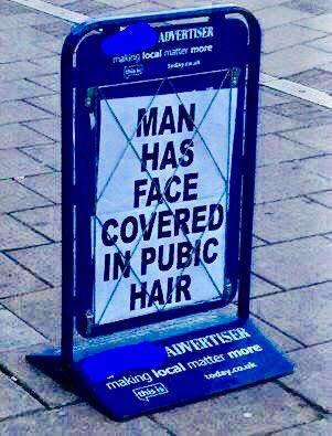 Which local newspaper? (a) Buxton Advertiser (b) Croydon Advertiser (c) Glossop Advertiser https://t.co/o6D0MOjRdC