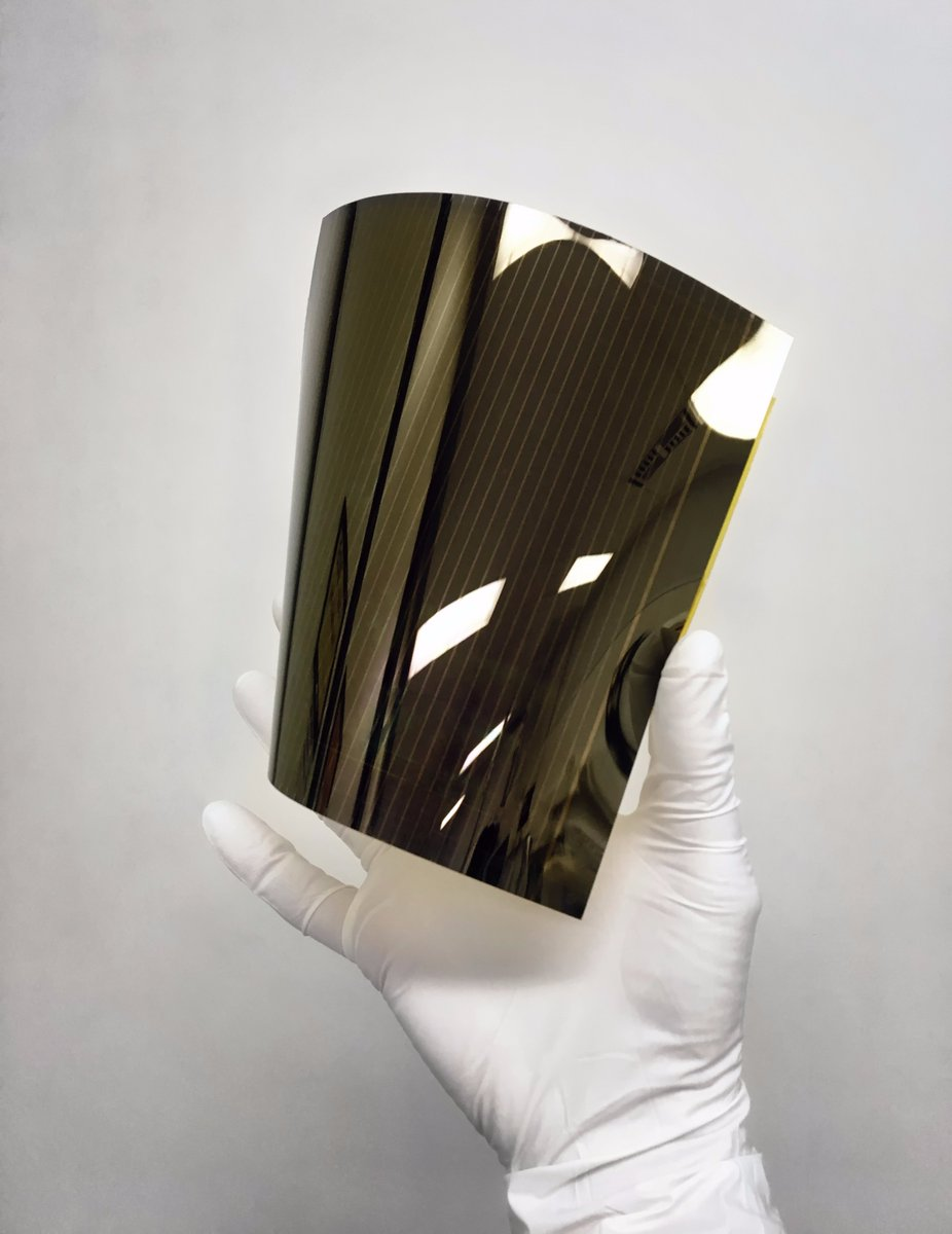 Solliance reaches new records in printing roll-to-roll solar cells that will ultimately turn any surface – even if it's curved or transparent – into an energy source.  https:// e52.nl/en/solliance-r eaches-new-records-printing-solar-cells/ &nbsp; …  #Eindhoven <br>http://pic.twitter.com/72J50F44pi