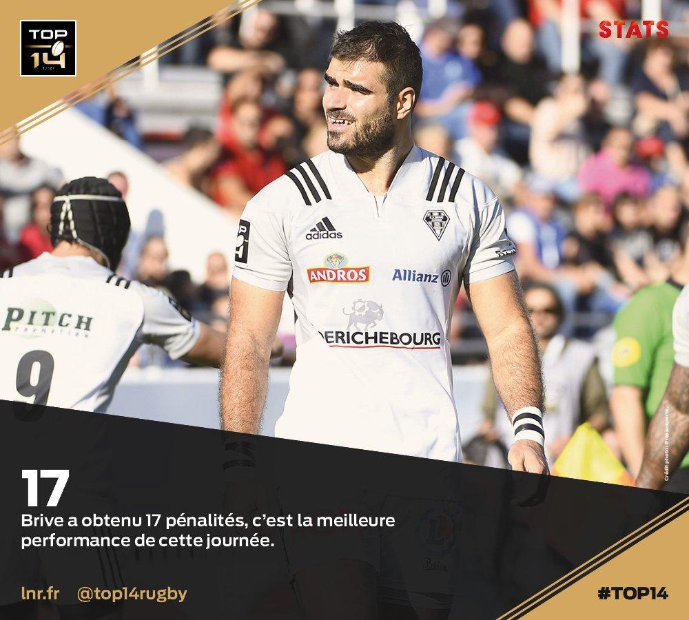 #TOP14, J10   #Stats ► Le @CABCLRUGBY es...