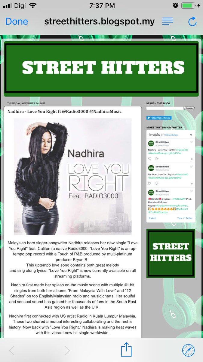 Nadhira on Twitter: