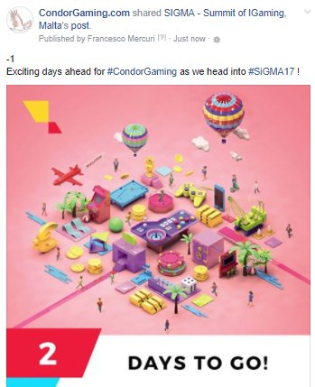 test Twitter Media - Like us on Facebook https://t.co/z4AXDKmc7S ! You can't make a mistake 'cause we are a #Condor ! Stay tuned for #SiGMA17 ! https://t.co/BqKTodvUkG