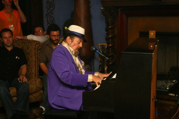 It s Dr. John Day in New Orleans! Happy birthday, Mac