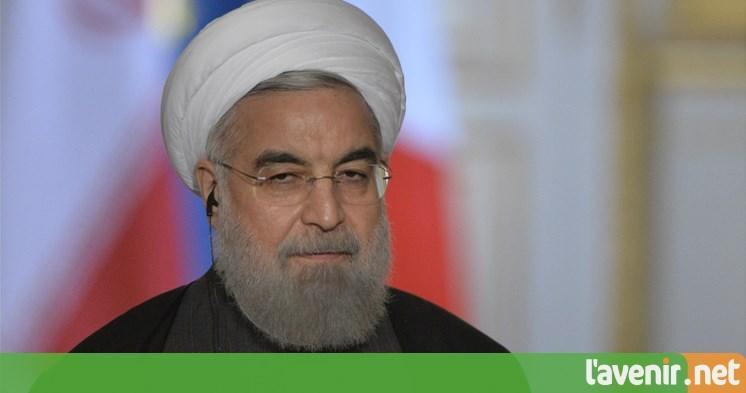 Le président iranien Hassan Rohani annonce «la fin» de l'EI https://t.co/rdjjzI2nyy