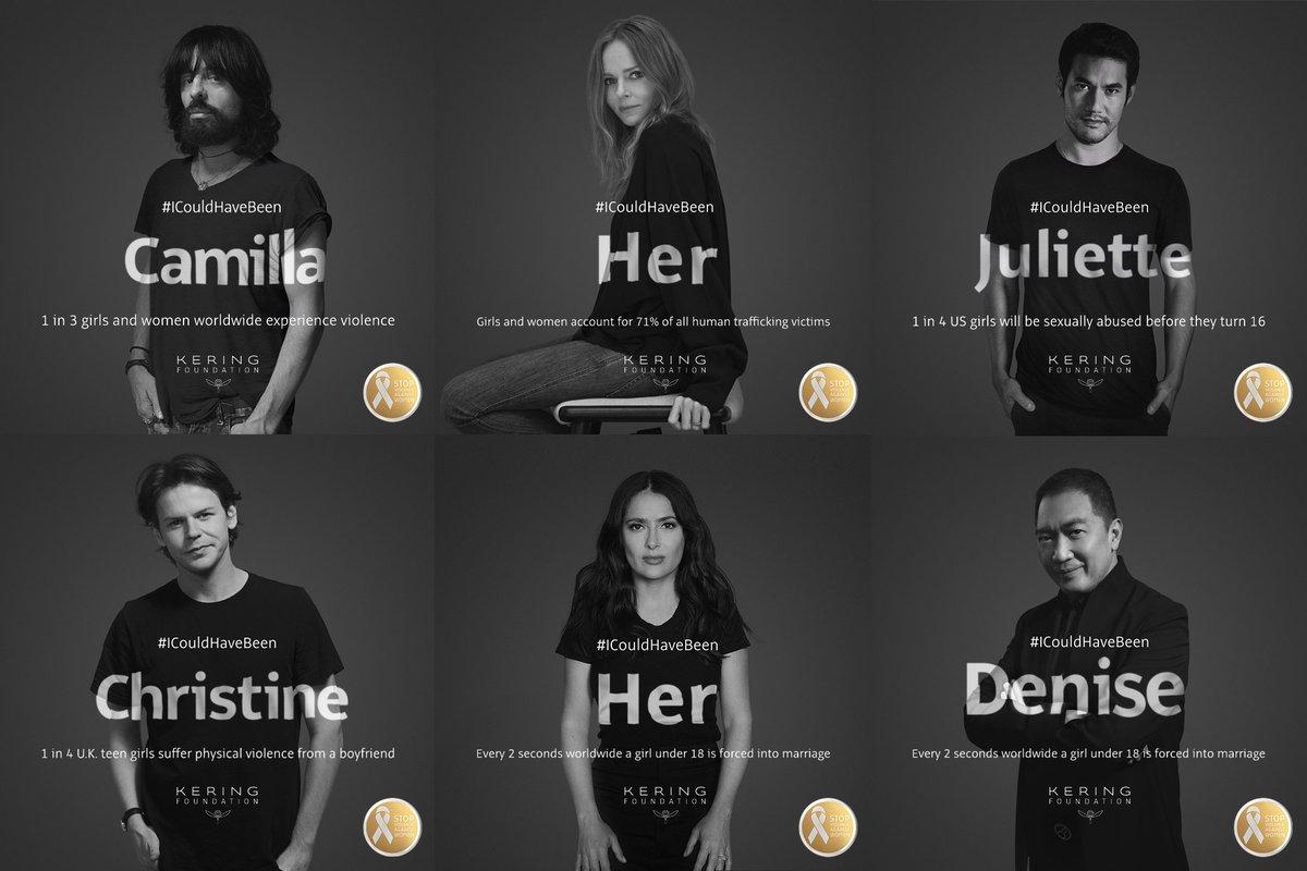 #ICouldHaveBeen : Alessandro Michele, Stella McCartney et d'autres s'engagent contre les violences féminines. Et vous ? --> https://t.co/jitLQyNlRU