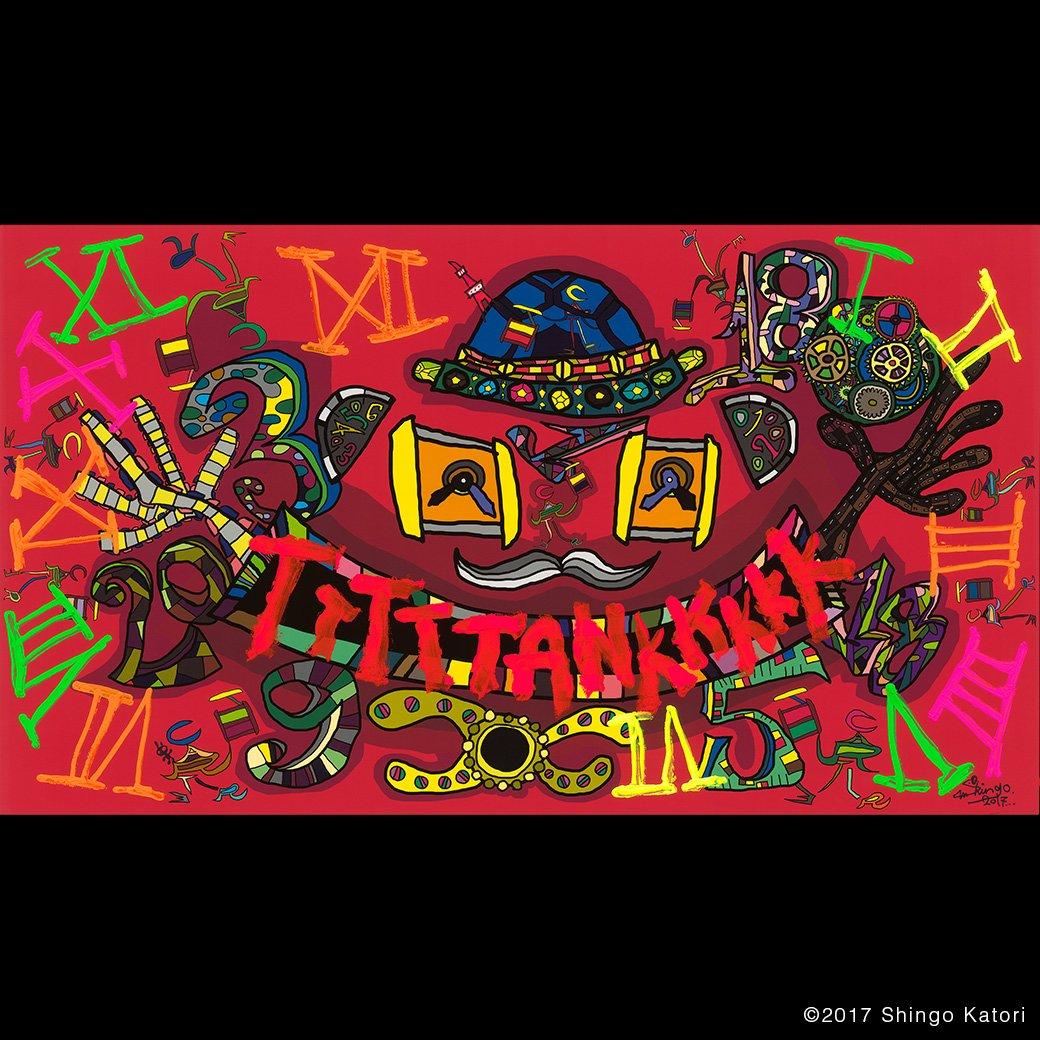 Special thanks to @ktrsngofficial for his original artwork celebrating #Tank100 in Tokyo. https://t.co/eWCT4tS5uU #CartierTank #ShingoKatori