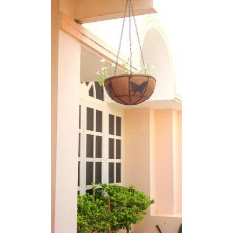 Great to use Indoor as well as Outdoor, Hanging Coir #Planters are made from coir fibre and are #ecofriendly! Order here  http:// bit.ly/2zYwF0p  &nbsp;   #GardenDecor #Gardening #GardenAccessories #Decor<br>http://pic.twitter.com/dYMGNinJVl