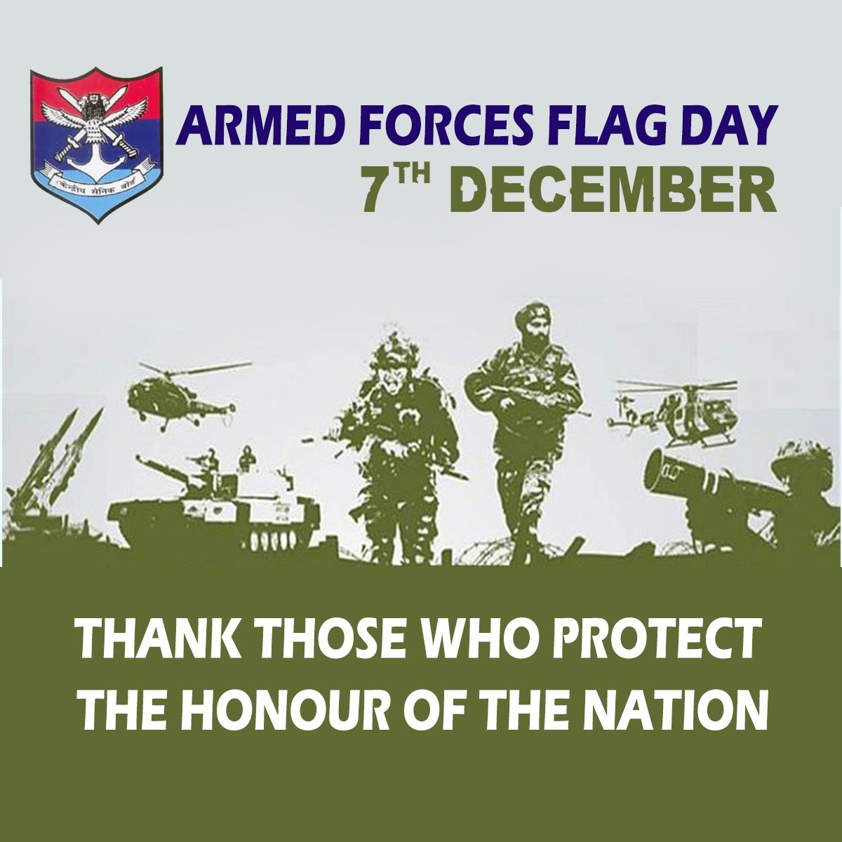 Image result for armed forces flag day