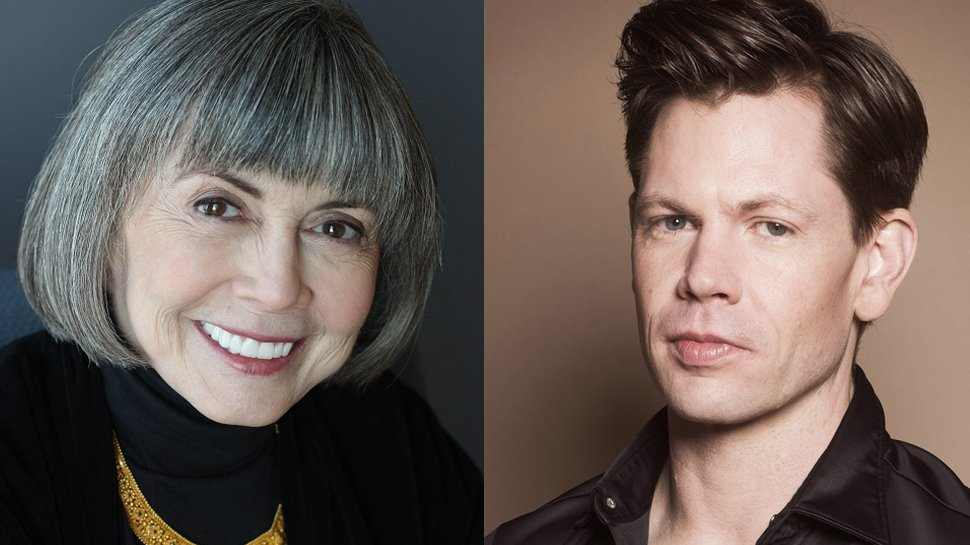 .@AnneRiceAuthor and @chrisricewriter talk about the long awaited return of #TheMummy: https://t.co/0eMDfrBWov https://t.co/J3OFzGzbRr