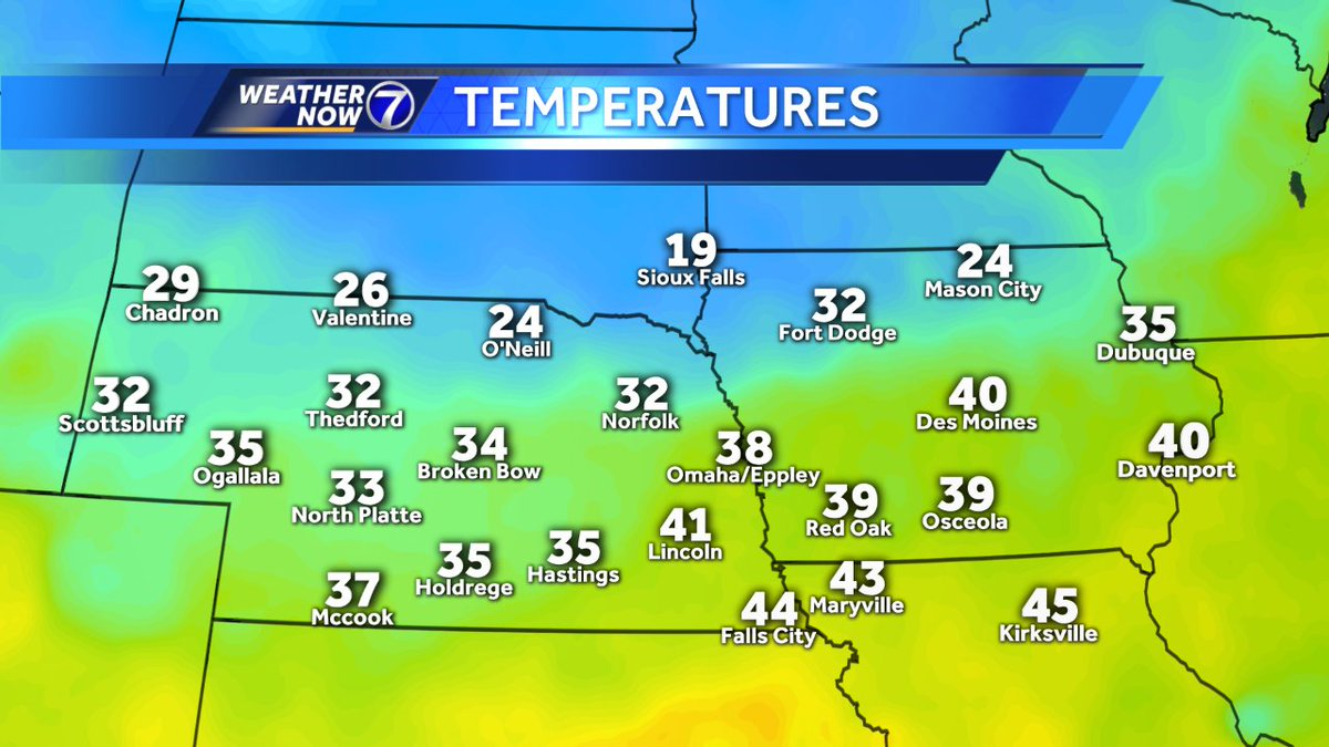 Ketv Weather On Twitter Wind Gusts 35 40 Mph North Of Omaha Right Now Those Will Drive The Colder Air Over Us This Afternoon And Keep Wind Chills In The 10s 20s