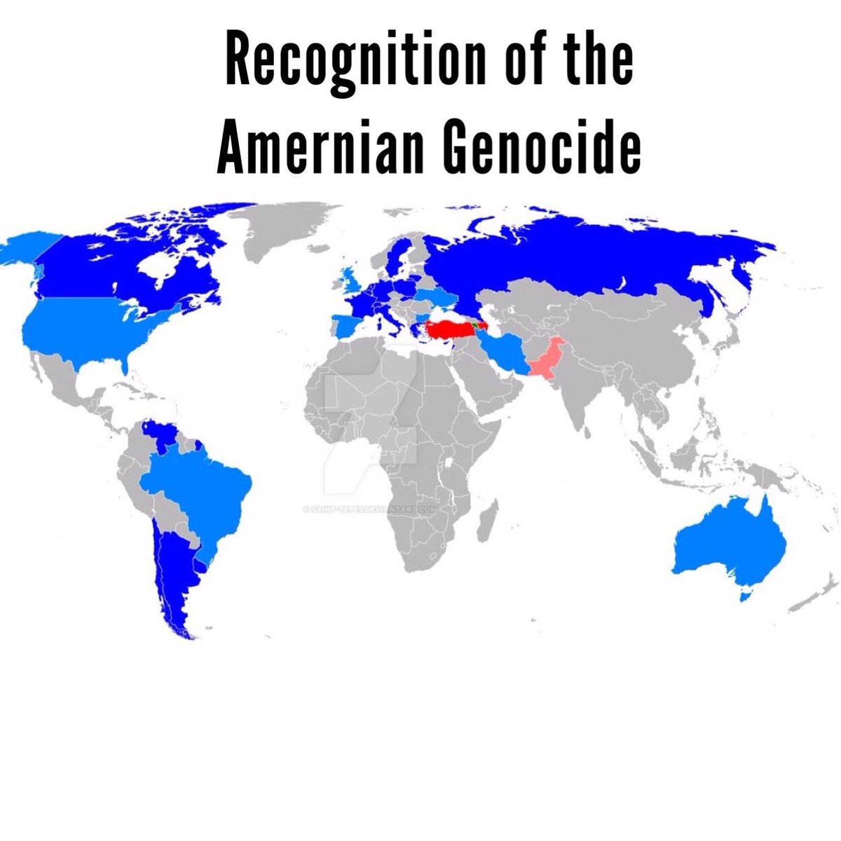 Fan Maps On Twitter Recognition Of The Armenian Genocide Source